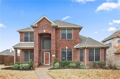 Allen Single Family Home Active Option Contract: 722 Summerfield Drive