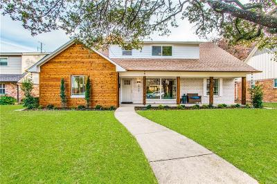 Dallas Single Family Home For Sale: 9926 Faircrest Drive