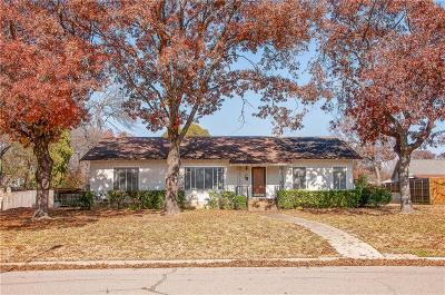 Waxahachie Single Family Home For Sale: 704 Sycamore Street
