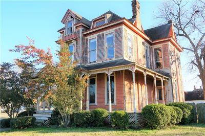 Denison Single Family Home Active Option Contract: 614 W Sears Street