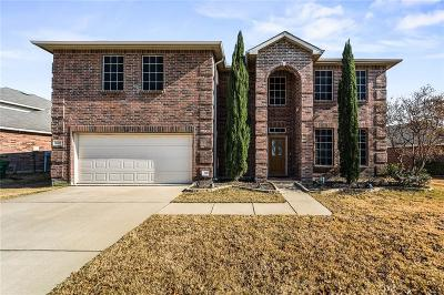 Denton Single Family Home For Sale: 6405 Saddleback Drive