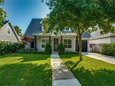 Fort Worth Single Family Home For Sale: 840 Edgefield Road