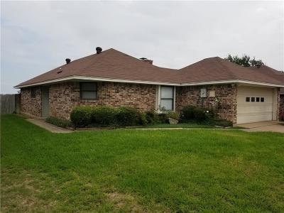 Denton County Single Family Home Active Option Contract: 2215 Rockwood Drive