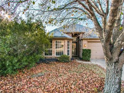Lake Dallas Single Family Home Active Option Contract: 606 Lake Bridge Drive
