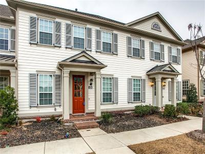 Denton County Townhouse Active Option Contract: 1124 Moonstone Street