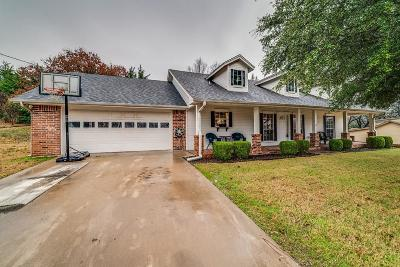 Waxahachie Single Family Home Active Option Contract: 310 Lakewood Drive