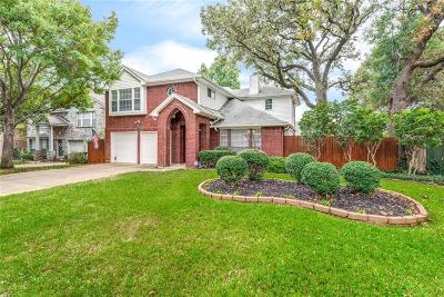 Grapevine Single Family Home For Sale: 1719 Brettenmeadow Drive