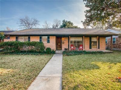 Dallas Single Family Home For Sale: 10416 Royalwood Drive