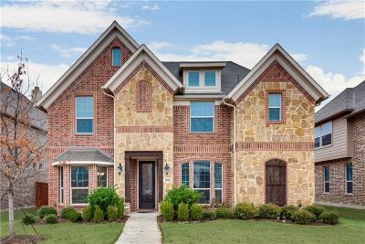 Frisco Single Family Home Active Option Contract: 5682 Gracie Lane