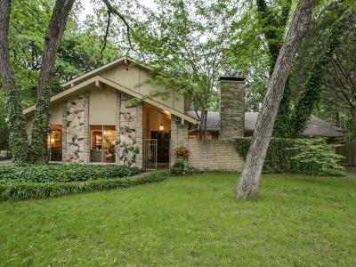 Dallas Single Family Home Active Contingent: 9048 Mercer Place