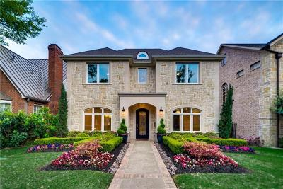 Dallas County Single Family Home For Sale: 3225 Amherst Avenue