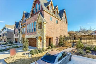 Fort Worth Townhouse For Sale: 6705 Lost Star Lane