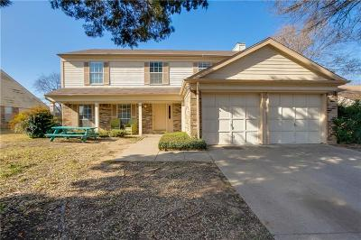 Euless Single Family Home For Sale: 1607 Chittam Drive
