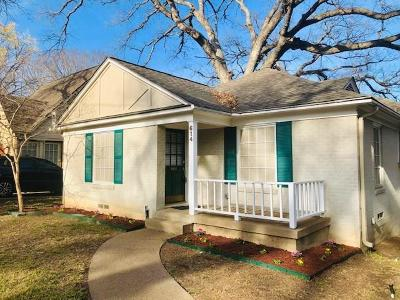 Dallas Single Family Home For Sale: 614 Blair Boulevard