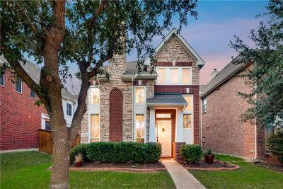 Frisco Single Family Home Active Option Contract: 11304 Newgate Drive