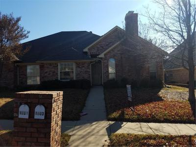 Grapevine Residential Lease For Lease: 1803 Evergreen Court