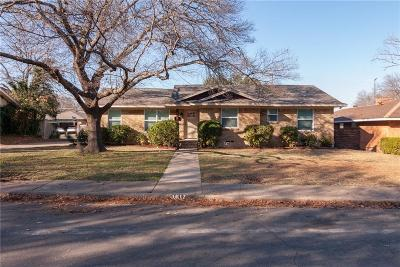 Dallas Single Family Home For Sale: 1617 Meadow Valley Lane