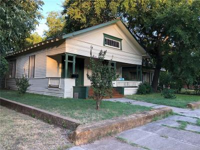 Single Family Home Active Option Contract: 806 N Dixon Street