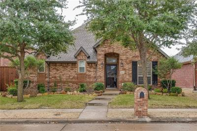 Frisco Single Family Home Active Option Contract: 921 Turnstone Trail