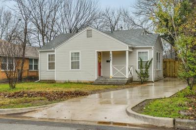 Fort Worth Single Family Home For Sale: 2329 Benbrook Boulevard