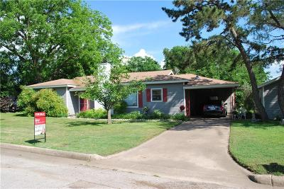 Cleburne Single Family Home For Sale: 125 Circle Drive