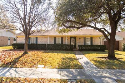 Irving Single Family Home Active Option Contract: 3702 Bob O Link Drive