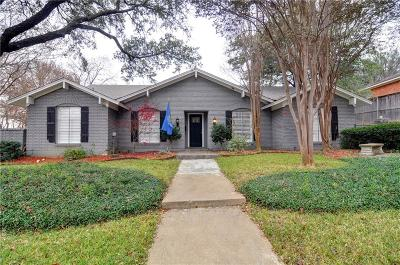 Fort Worth Single Family Home For Sale: 6829 Woodstock Road