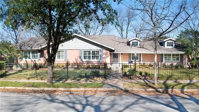 Dallas Single Family Home For Sale: 3667 Pallos Verdas Drive