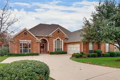 Ennis Single Family Home Active Option Contract: 1206 Harley Court