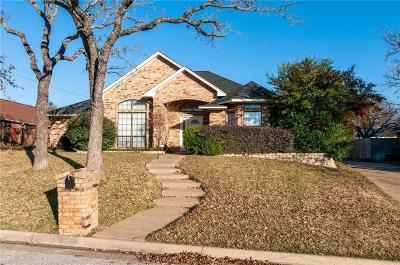 North Richland Hills Single Family Home Active Option Contract: 7312 Red Oak Street