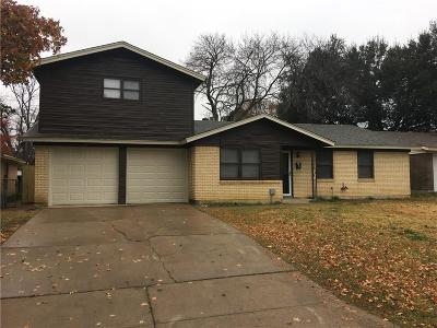 Euless Residential Lease For Lease: 612 Pauline Street