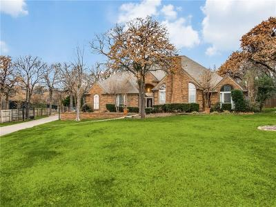 Southlake Single Family Home For Sale: 1362 Lakeview Drive
