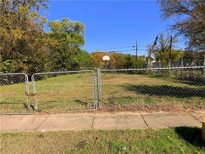 Fort Worth Residential Lots & Land For Sale: 1011 Bessie Street