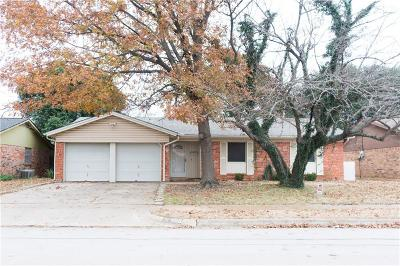 Crowley Single Family Home Active Option Contract: 108 Quail Creek Drive