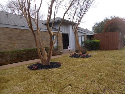 Addison Single Family Home For Sale: 14709 Le Grande Drive