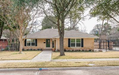 Dallas Single Family Home For Sale: 2360 Peavy Place