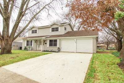 Saginaw Single Family Home Active Option Contract: 508 Thompson Drive