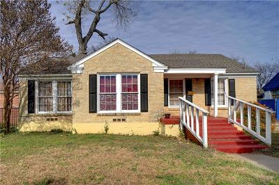 Fort Worth Single Family Home For Sale: 3209 McLean Street