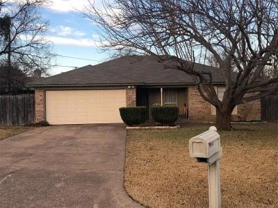 Benbrook Single Family Home Active Option Contract: 1105 Holly Court