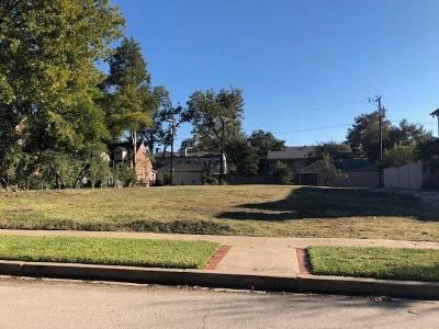 Highland Park TX Residential Lots & Land For Sale: $2,549,000