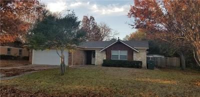 Sherman Single Family Home Active Option Contract: 1028 S Idlewild Drive