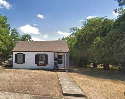Dallas Single Family Home For Sale: 4802 Cowan Avenue