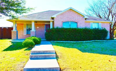 Dallas Single Family Home For Sale: 7602 Pleasant Mound