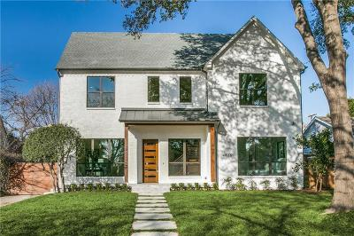 University Park, Highland Park Single Family Home Active Option Contract: 4636 Arcady Avenue