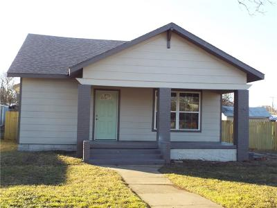 Eastland County Single Family Home Active Option Contract: 207 S Madera Street
