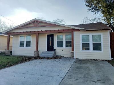 Dallas Single Family Home For Sale: 3123 Arizona Avenue