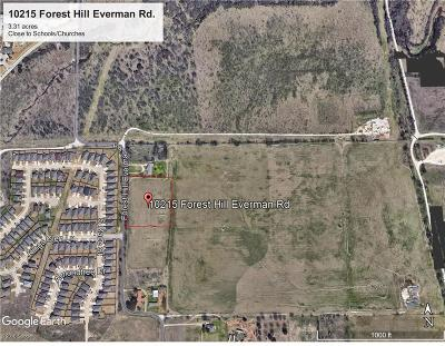Fort Worth Residential Lots & Land For Sale: 10215 Forest Hill Everman Road