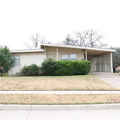 Fort Worth Single Family Home For Sale: 4829 Kilpatrick Avenue