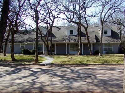 Fort Worth Single Family Home For Sale: 1604 Danciger Drive