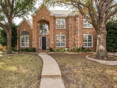 Plano Single Family Home Active Contingent: 2605 Barrington Drive